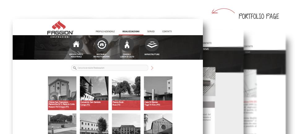 Progetto web site Responsive design dello studio di comunicazione